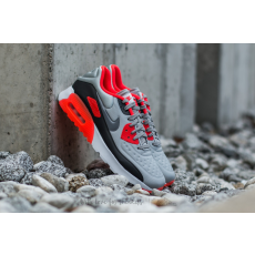 Nike Air Max 90 (GS) Ultra SE (GS) Wolf Grey/ Cool Grey-Bright Crimson-Black