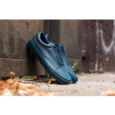 Vans Old Skool Reissue (Leather) Midnight Navy