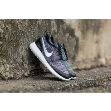 Nike Wmns Roshe One Flyknit Black/ White-Cool Grey