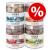 Wolf of Wilderness Sparpaket Wolf of Wilderness - Gefriergetrocknete Premium-Snacks - Blue River - lazac (280 g)