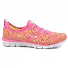 Skechers 22722/NPYL NEON PINK/YELLOW