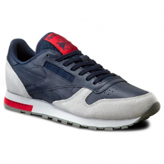 Reebok Cipők Reebok - Cl Leather Grey BD4415 Cllg Navy/Cloud Gry/Alloy
