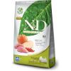 Natural & Delicious; Farmina N&D Grain Free Vaddisznó&Alma Kistestű Kutya 7kg