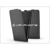 Slim Flexi Flip bőrtok - Huawei/Honor 8 - fekete