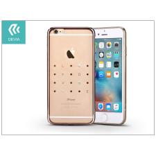 Devia Apple iPhone 6 Plus/6S Plus hátlap kristály díszitéssel - Devia Crystal Love - champagne gold tok és táska