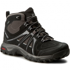 Salomon Bakancs SALOMON - Evasion Mid GTX 376909 29 V0 Black/Autobahn/Pewter