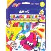 AMOS Üvegfóliafesték készlet, 6 különböző szín (6db/csom) HPR148