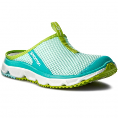 Salomon Papucs SALOMON - Rx Slide 3.0 W 392448 20 M0 Aruba Blue/White/Lime Green