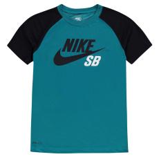 Nike Póló Nike QTT Colour Block gye.