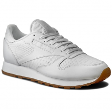 Reebok Cipők Reebok - Cl Leather Pg BD1643 White/Carbon/Snowy Gre