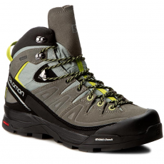 Salomon Bakancs SALOMON - X Alp Mid Ltr GTX 394723 27 V0 Shadow/Castor Gray/Lime Punch