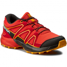 Salomon Bakancs SALOMON - Speedcross J 392383 09 M0 Fiery Red/Black/Bright Marigold