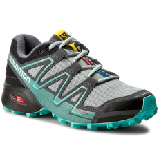 Salomon Cipők SALOMON - Speedcross Vario W 383107 20 W0 Light Onix/Black/Bubble Blue