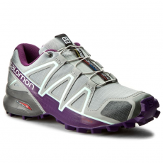 Salomon Cipők SALOMON - Speedcross 4 W 394664 20 V0 Quarry/Acai/Fair Aqua