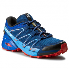 Salomon Cipők SALOMON - Speedcross Vario GTX 390548 27 W0 Blue Depth/Blue Yonder/Lava Orange