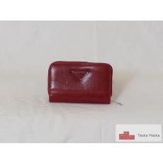 P087 Gastone bordó kártyatartós női pénztárca