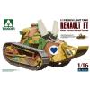 Takom French Light Tank Renault FT Char Canon/ Girod Turret makett 1001