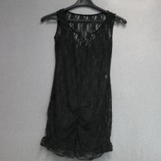 Fekete csipkés pántos fehérnemű - Egy méret