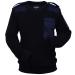 férfi pulóver méret: XXL tenger kék