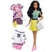 Barbie Fashionista babák ruhákkal és kiegészítőkkel - sárga szoknyás