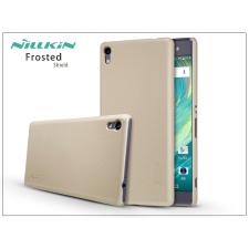 Nillkin Sony Xperia XA Ultra (F3212/F3216) hátlap képernyővédő fóliával - Nillkin Frosted Shield - gold tok és táska