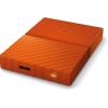 Western Digital My Passport 4000GB USB3.0 2,5' külső HDD narancssárga