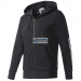 Adidas Blúz adidas Essentials Linear Full Zip Hood French Terry M S98796