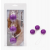Lybaile Anal Balls, ABS Material, Purple, 3,8cm