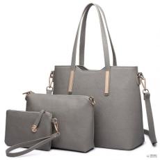 Miss Lulu London LT6648-nőibőr kézi táska Celebrity Leisure bevásárló táska Combo válltáska táska és Táska Clutch gray