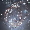 LED-s izzósor-csokor, mikroszálas, 10 ágú, 1,9m, IP44, 230V