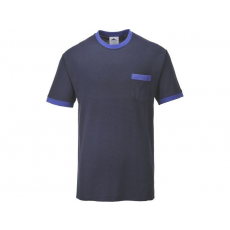 TX22 - Portwest Texo kontraszt póló (TENGERÉSZKÉK,M)