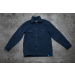 by Parra The Duck Holder Melton Wool Overshirt Navy Blue