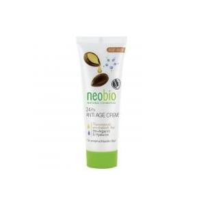 Neobio 24 órás öregedésgátló arckrém bio argánolajjal és hialuronsavval 50 ml