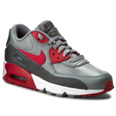 Nike Cipők NIKE - Air Max 90 Ltr (GS) 833412 007 Cool Grey/Gym Red/Anthracite/White