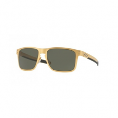 Oakley OO4123 08 HOLBROOK METAL SATIN GOLD DARK GREY napszemüveg
