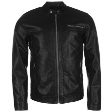 Only and Sons férfi műbőr dzseki - Only and Sons Nicky PU Jacket Mens