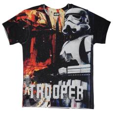 Character gyerek póló - Star Wars - Star Wars Character T Shirt Child Boys