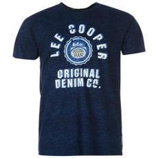 Lee Cooper All Over Print Large Logo férfi póló