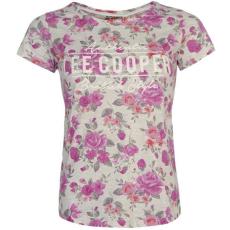 Lee CooperAOP Floral női póló