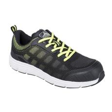 FT15 - Steelite Tove Trainer védőcipő, S1P - fekete / zöld (42)