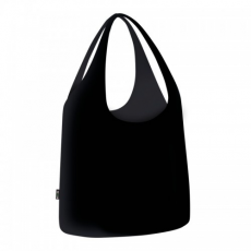 ecozz Hosszú fülű nagy bevásárlótáska Black label - ecozz