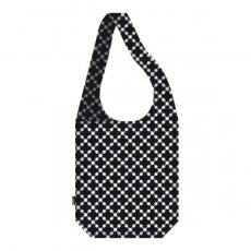 ecozz Vállon átvethető táska Squares Black - ecozz