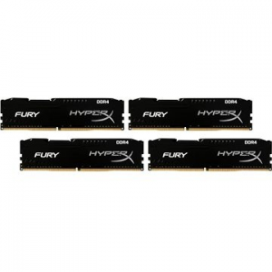 Kingston 64 GB-KIT DDR4 2400 MHz órajelű CL15 HyperX düh Black Series