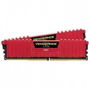 Corsair 16 GB KIT DDR4 3000MHz CL15 Vengeance LPX piros