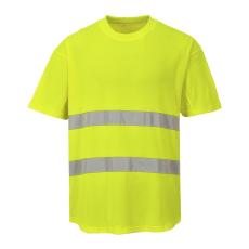 C394 - Hálós póló - Sárga (L)