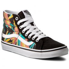 Vans Sportcipő VANS - Sk8-Hi Slim VN0A32R2MQL (Tropical Leaves) Black
