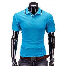 Ombre Men's Fashion Póló S 516 türkiz