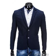 Ombre Men's Fashion Zakó M 56 s.kék