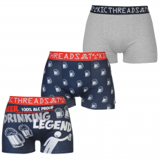 Toxic Threads Boxeralsó Toxic Threads 3 Pack fér.