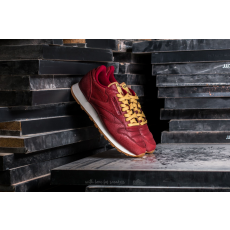 Reebok Classic Leather Boxing Rugged Maroon/ Chalk-Gum